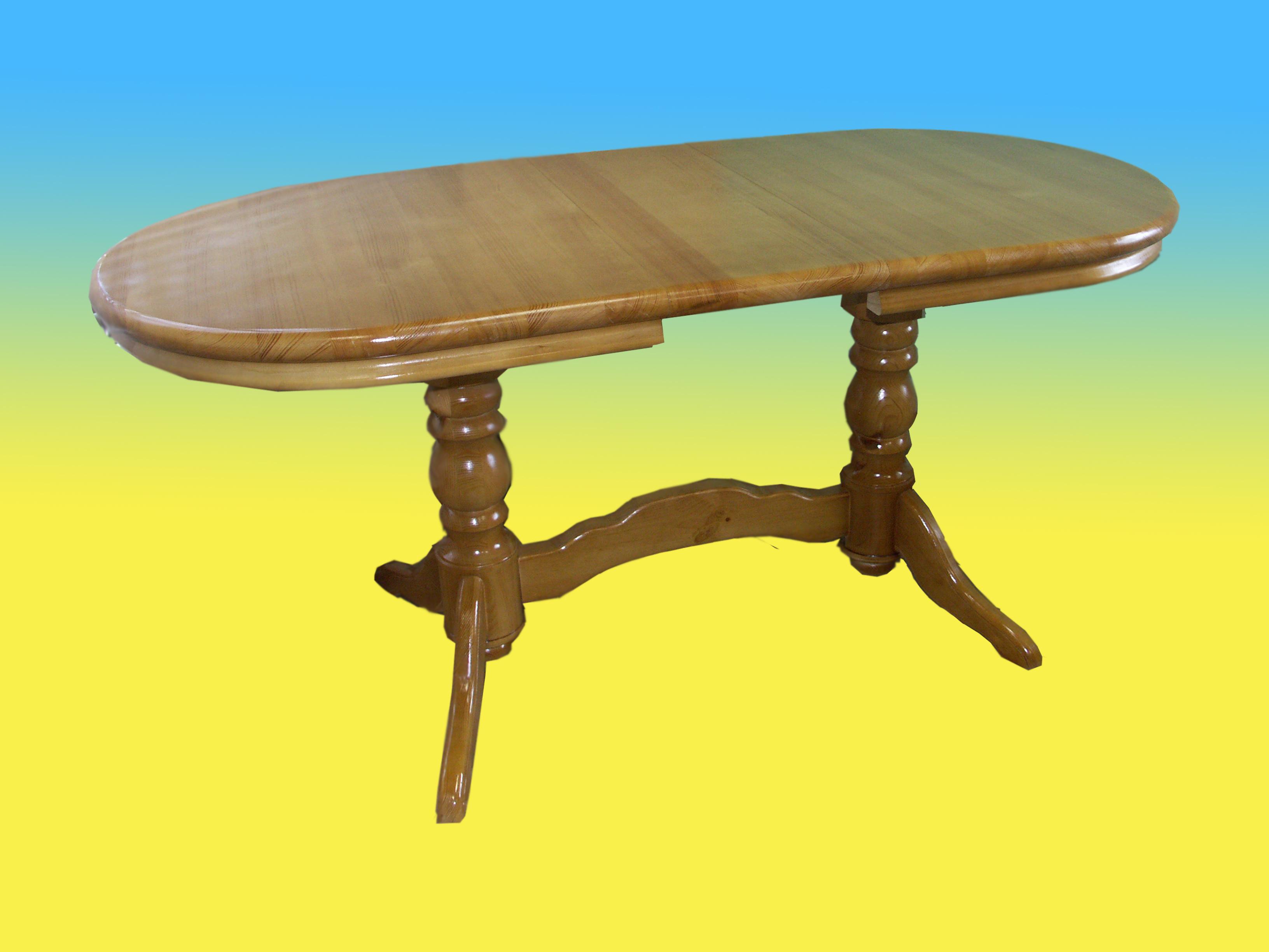 Как сделать столик на двух ножках